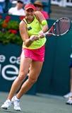 Taza el 16 de abril de Cirlce de la familia del viaje de Sony Ericsson WTA Imagen de archivo