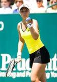 Taza el 16 de abril de Cirlce de la familia del viaje de Sony Ericsson WTA fotografía de archivo