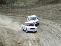 Taza final de Rusia en autocross Imágenes de archivo libres de regalías