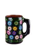 Taza floral Imagenes de archivo