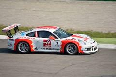 Taza GT3 de Porsche 911 en Monza Imágenes de archivo libres de regalías