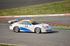 Taza GT3 &#x28 de Porsche 911; Mecanografíe 996) en Monza Foto de archivo