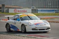 Taza GT3 &#x28 de Porsche 911; Mecanografíe 996) en Monza Fotos de archivo libres de regalías