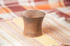 Taza handcrafted tradicional Imagenes de archivo