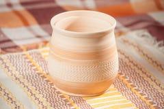 Taza handcrafted tradicional fotos de archivo
