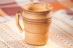Taza handcrafted tradicional fotografía de archivo