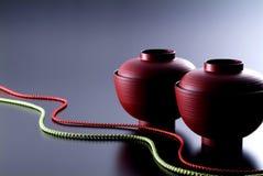 Taza japonesa de la sopa Imagen de archivo