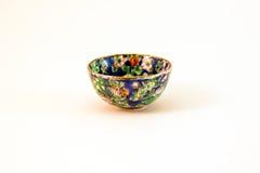 Taza japonesa vieja de la porcelana fotos de archivo