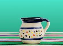Taza mexicana para el café y las bebidas calientes Imagen de archivo libre de regalías