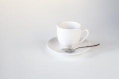 Taza para el café (vacío) fotografía de archivo