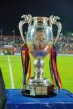 Taza rumana del fútbol Fotos de archivo libres de regalías