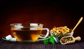 Taza tradicional de té Foto de archivo libre de regalías