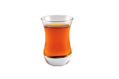 Taza turca con té Imagen de archivo