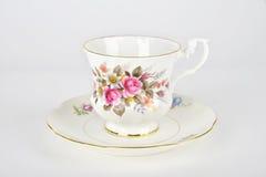 Taza y platillo de té Imagen de archivo