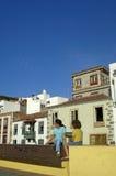 Tazacorte,拉帕尔玛岛 免版税库存照片