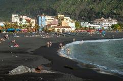 Tazacorte auf La Palma, Kanarische Inseln, Spanien lizenzfreies stockfoto