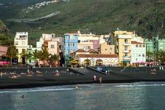 Tazacorte on La Palma, Canary Islands, Spain Stock Image