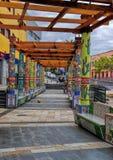 Tazacorte LaPalma ö, kanariefågel, Spanien Royaltyfria Bilder