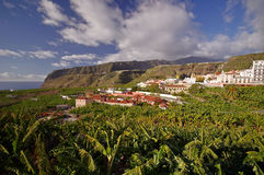 Tazacorte Village, La Palma island, Canary Royalty Free Stock Image