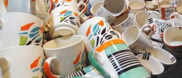 Tazas Imagen de archivo