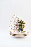 tazas Foto de archivo libre de regalías