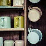 tazas Imagen de archivo libre de regalías