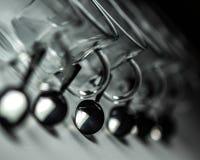 Tazas con las cucharas Imagen de archivo libre de regalías