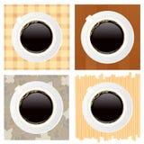 Tazas de café stock de ilustración