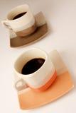 Tazas de café Fotografía de archivo libre de regalías