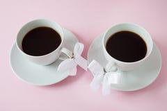 Tazas de café Imagen de archivo libre de regalías