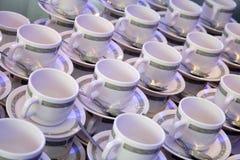Tazas de café Fotos de archivo