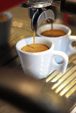 2 tazas de café Imagen de archivo