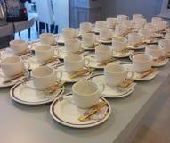 Tazas de café para el descanso para tomar café Fotografía de archivo