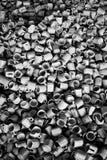 Tazas de café quebradas foto de archivo libre de regalías