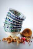 Tazas de cerámica Imágenes de archivo libres de regalías