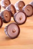 Tazas de la mantequilla de cacahuete Imagen de archivo libre de regalías
