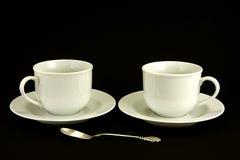 Tazas de té Imágenes de archivo libres de regalías