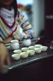 tazas de té Fotos de archivo