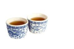 Tazas de té chinas Imágenes de archivo libres de regalías