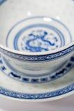 Tazas de té de China foto de archivo