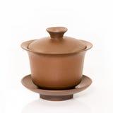 Tazas de té del chino tradicional foto de archivo