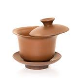 Tazas de té del chino tradicional fotografía de archivo libre de regalías