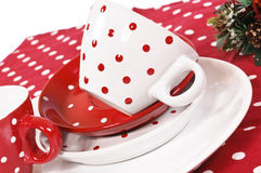 Tazas decorativas Foto de archivo libre de regalías