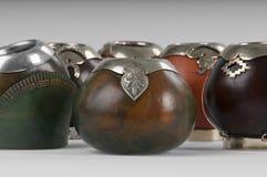 Tazas del Calabash imagen de archivo libre de regalías