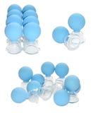 Tazas del masaje del vacío Foto de archivo libre de regalías