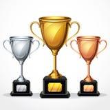 Tazas del trofeo.  ejemplo Imagenes de archivo