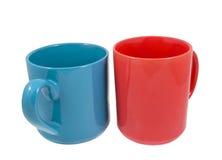 Tazas para el café o el té Fotografía de archivo libre de regalías