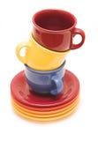 Tazas para el té Foto de archivo libre de regalías