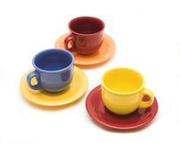Tazas para el té Imagenes de archivo