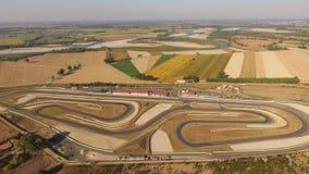 Tazio nuvolari circuit Italy. An aerial view of tazio nuvolari circuit in italy Royalty Free Stock Photo